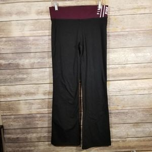 VS Pink Yoga Wide Wide Wide Leg Pants